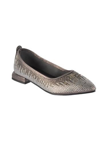 Mhd 322 Platin Kadın Günlük Ayakkabı Gümüş